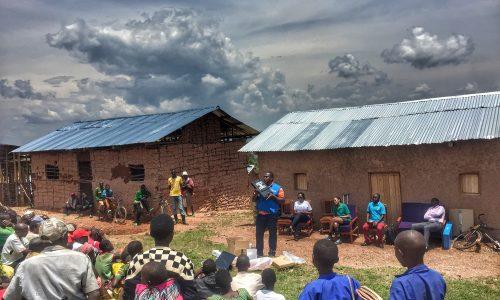 Farmers training Rwanda Challenges Group